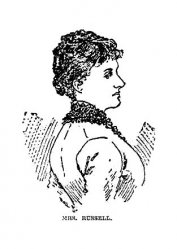 W. Clark Russell's wife -portrait from the Tioga County Record