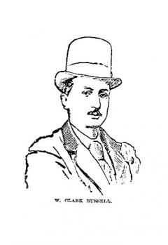 W. Clark Russell - portrait from Tioga County Record